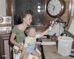 WMOM (Colorized): 1950
