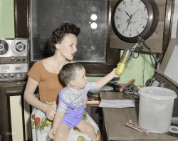 WMOM (Colorized): 1950s