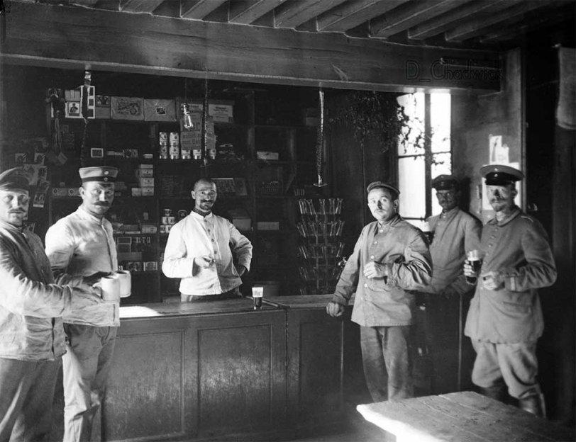WWI Bavarian Ersatz division veterans, 1919