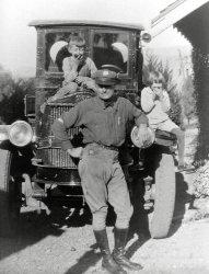 Delivering for Aristo Oil: c.1926