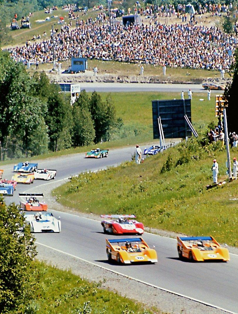 Watkins Glen Pace Lap: 1970