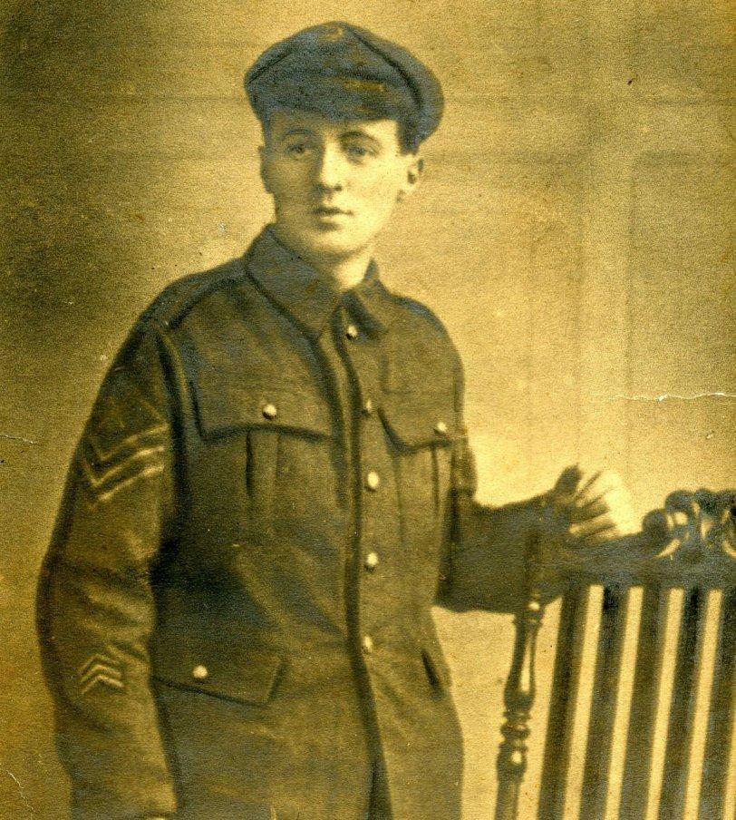 My grandfather, William Kearton c 1917