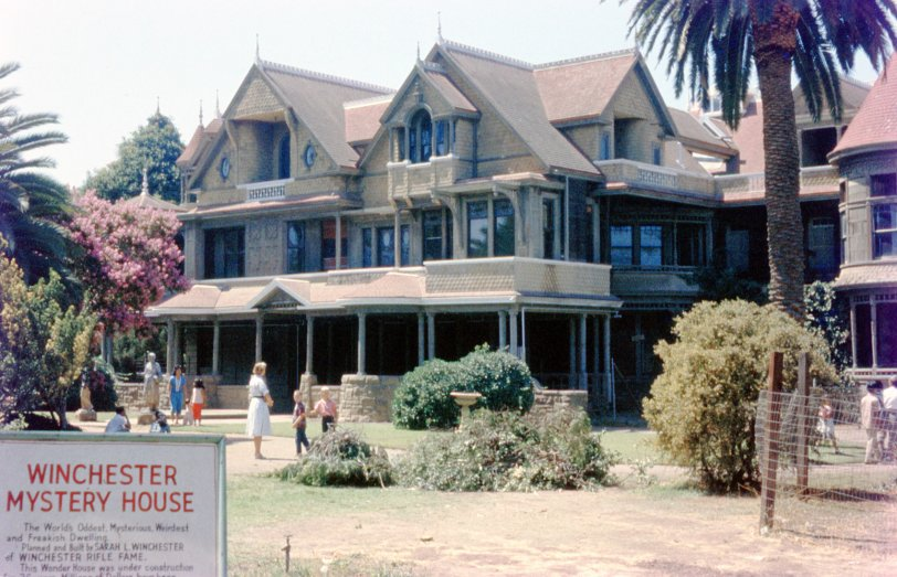 Winchester Mystery House: 1959