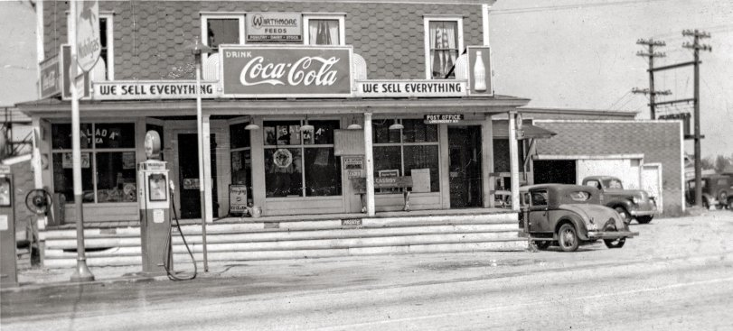 We Sell Everything: c. 1940s