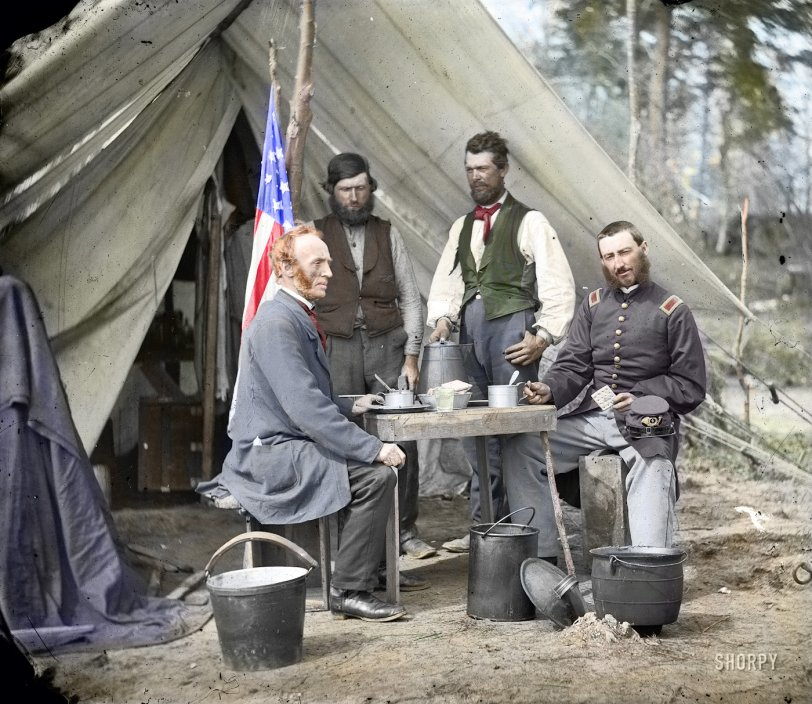 Camp Winfield Scott (Colorized)