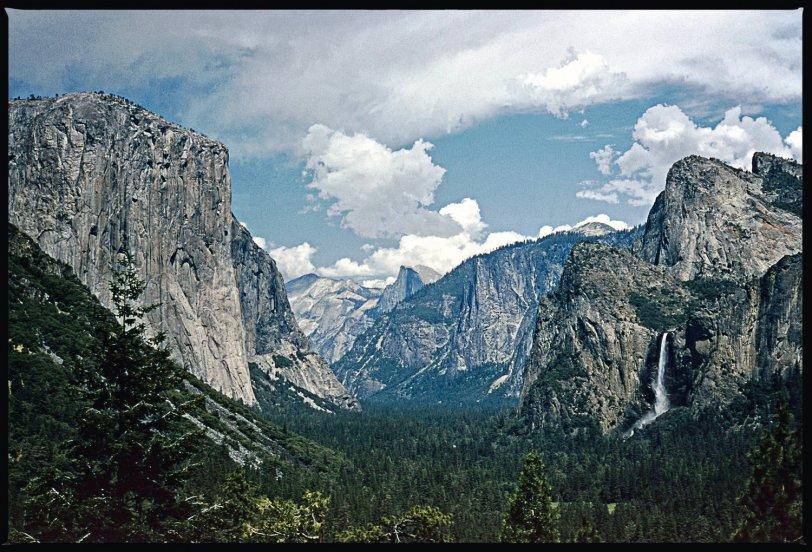 Yosemite Valley: 1956