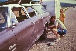 Tire Change: 1973