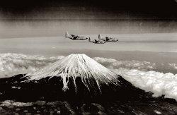 Mount Fuji 1955
