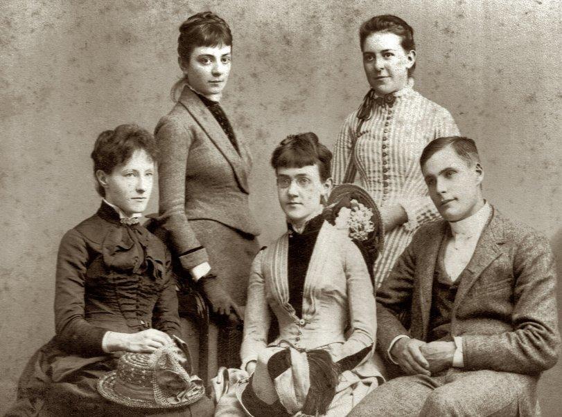 Stylish Family c.1885