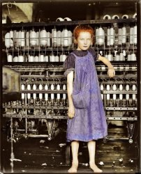 Addie Card (Colorized): 1910