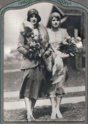 Agnes Wells Wedding Photo: 1929-1930