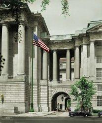 Between Bureaucracies (Colorized): 1937