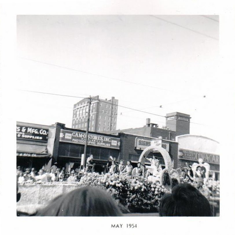 Kansas City Parade: 1953