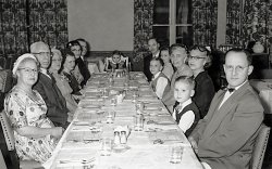 Special Dinner Out: 1953