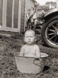 Wash Day: 1931