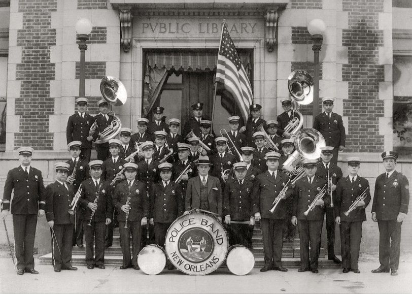 New Orleans Police Band