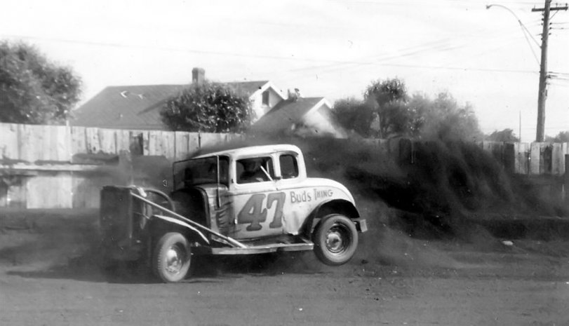 1954 Barry K into the rub rail