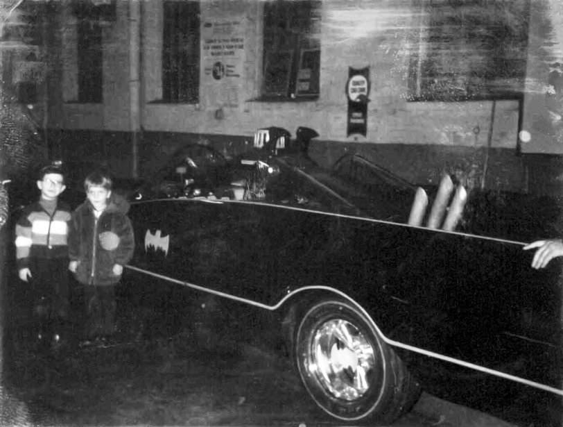 Backstage with the Batmobile: 1967