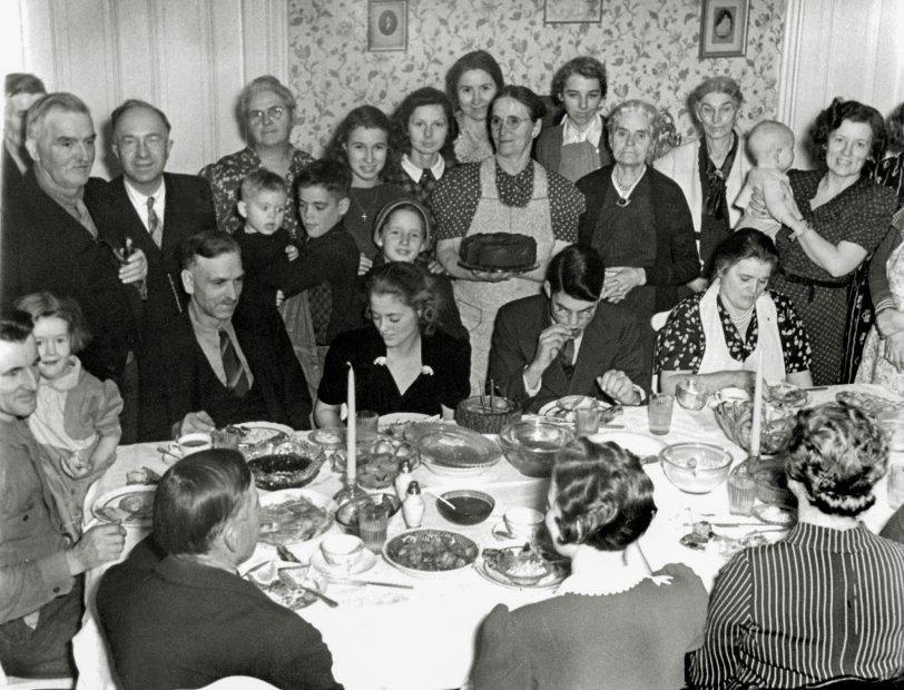 Christmas Eve Dinner: 1939