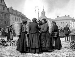 Bayreuth Market, 1904