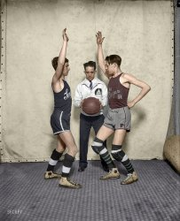 Bicameral Basketball (Colorized): 1927