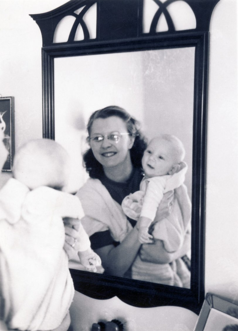 Baby in the Mirror: 1942