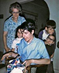 Birthday Photobomb: 1970