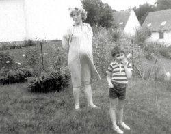 Andrej in Kindergarten: 1985