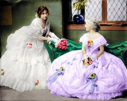 Ruffles and Flourishes (Colorized): 1906