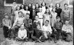 Betty and her Classmates 1939