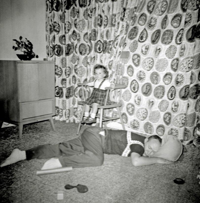 Naptime for Daddy: 1957