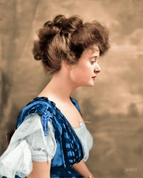 Billie Burke (Colorized: 1908