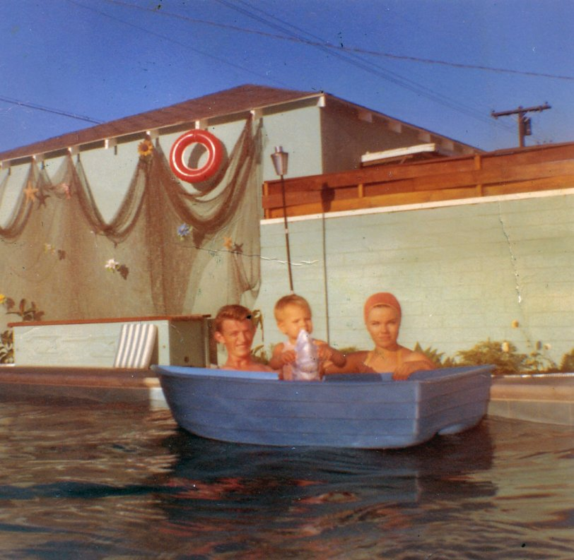 Float in a Boat: 1961