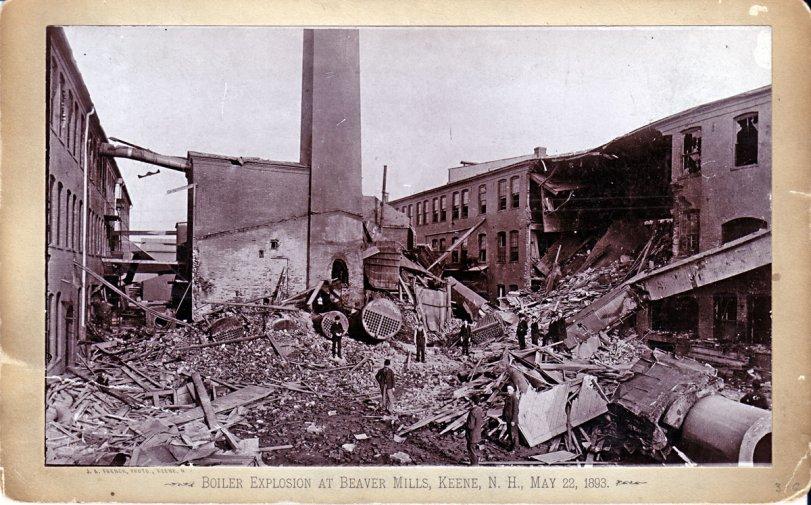 Wreck at Beaver Mills