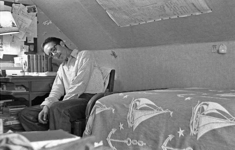 Boy Cave: 1955