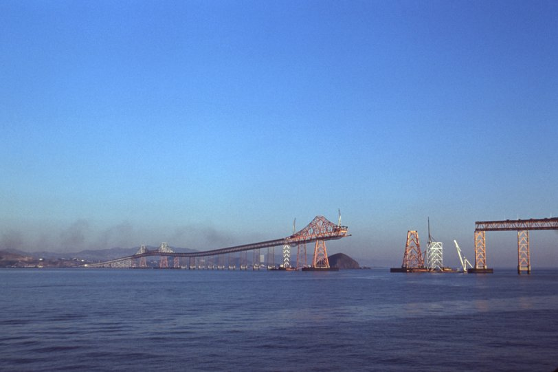 Richmond-San Rafael Bridge 1955