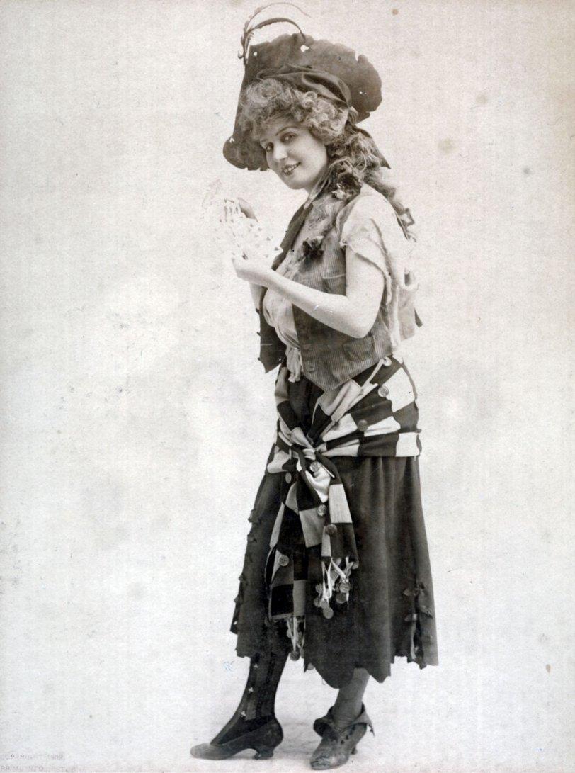 Burr McIntosh artist print, 1902