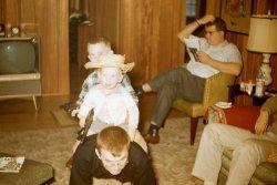 Horseback Riders: 1958