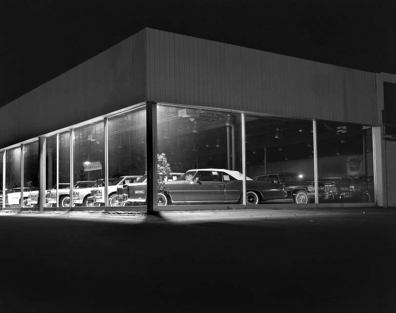 Patkin Cadillac: 1977   Shorpy Old Photos   Photo Sharing