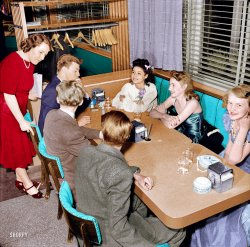 Cafe Society (Colorized): 1941