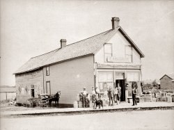 Cain Brothers store, Ontario.