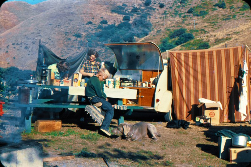 Cooks on Wheels: 1950s