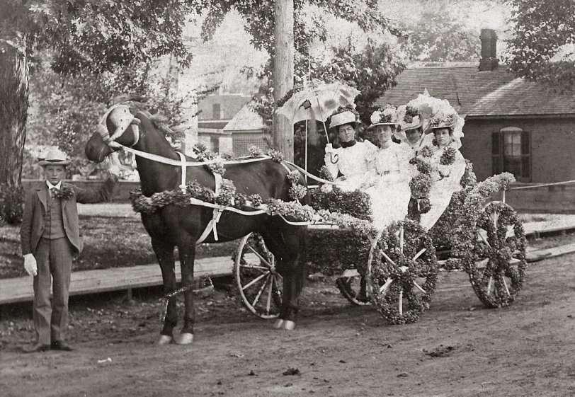 1890s Carriage Ride