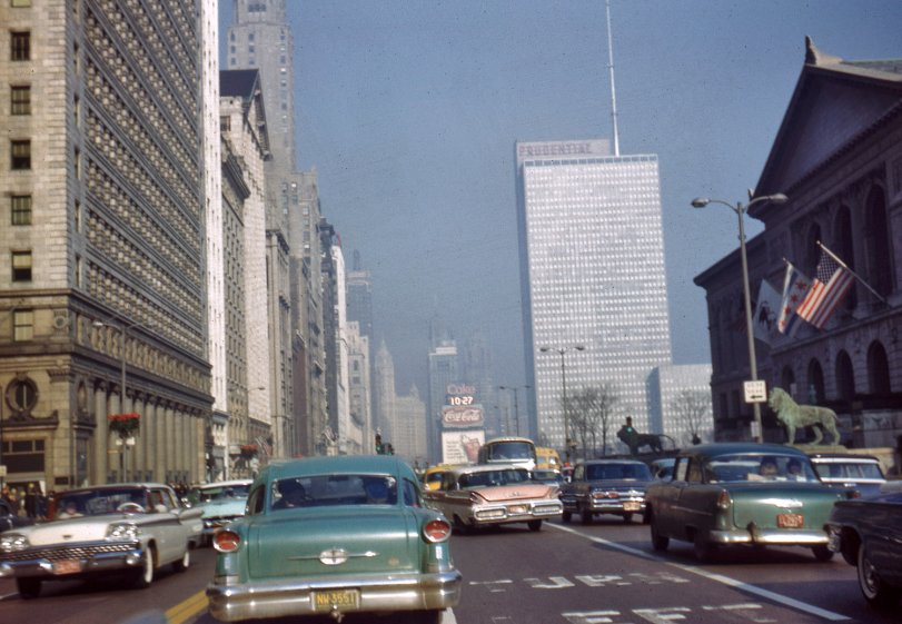 Michigan Avenue: 1962