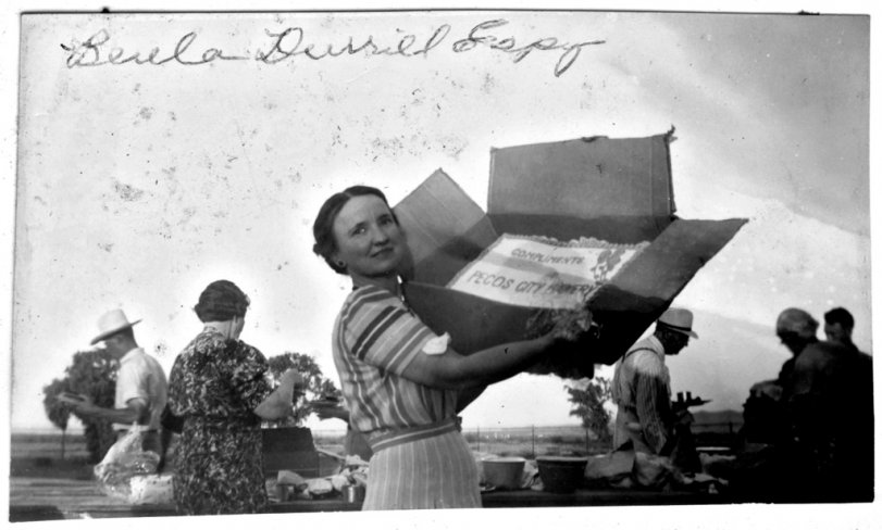 Compliments Pecos City Bakery: 1940