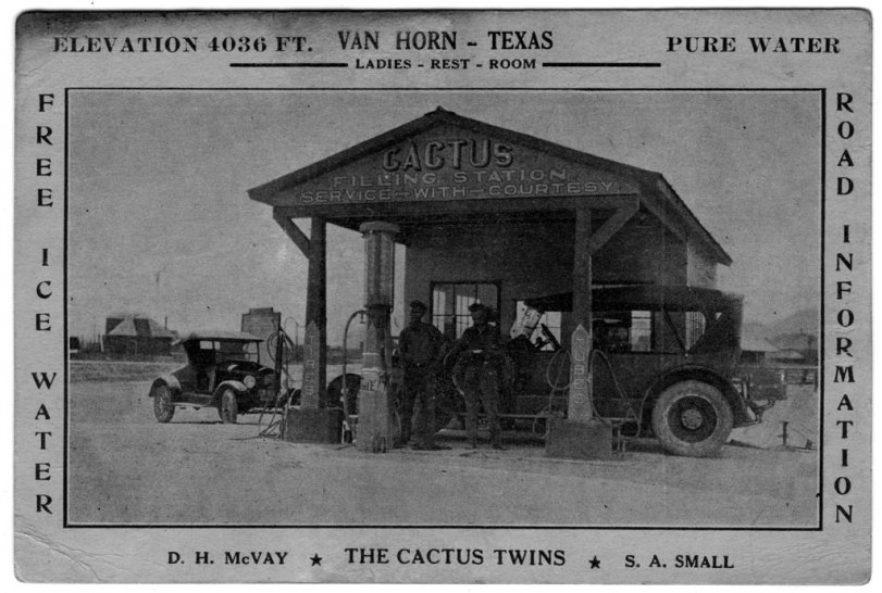 The Cactus Twins: c. 1928