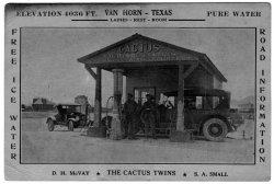 The Cactus Twins: c. 1928
