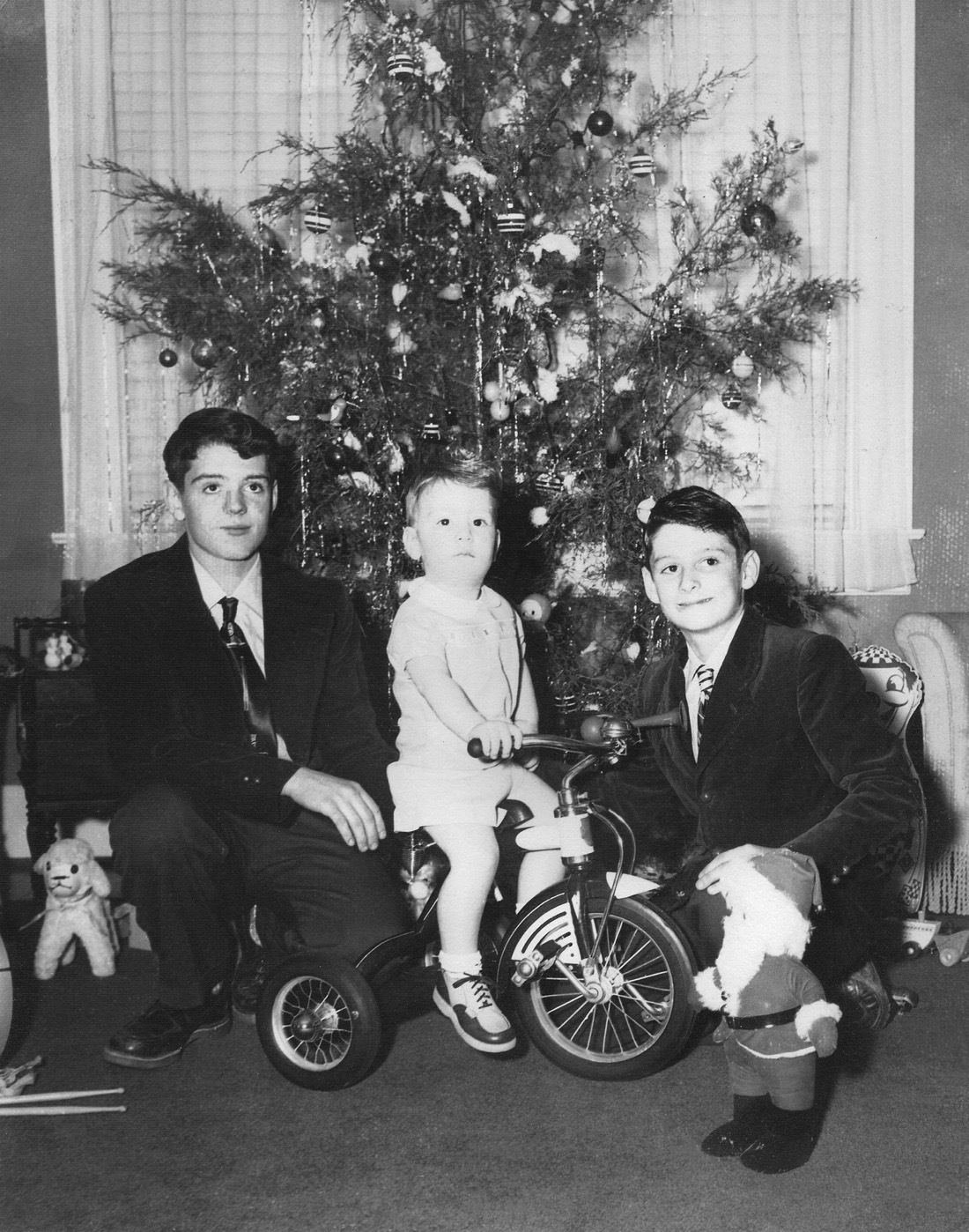 Shorpy Historic Picture Archive :: Christmas 1950 high-resolution ...