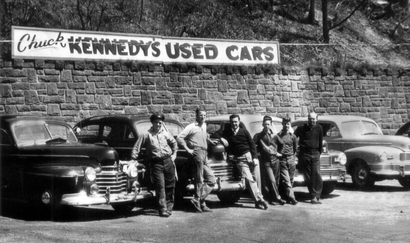 Chuck Kennedy's Auto Sales: c. 1950s