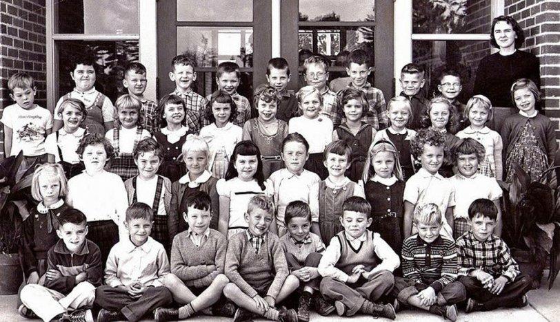 Second Grade: 1957